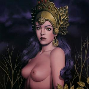 gilded priestess